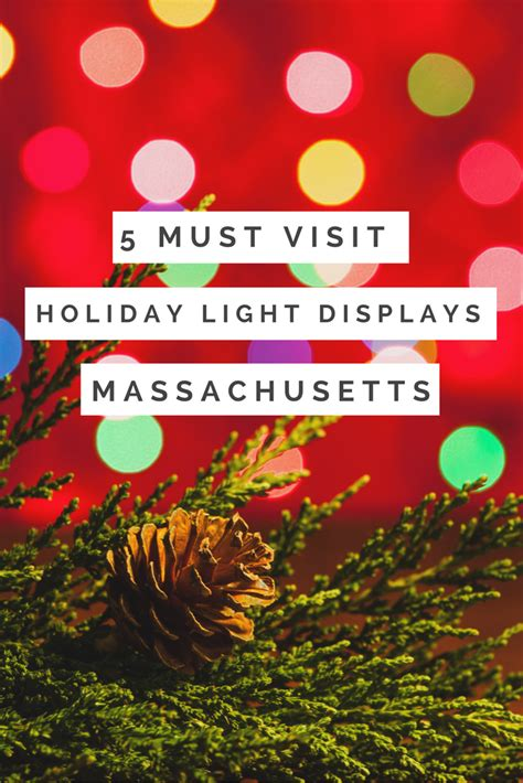 christmas light displays in ma 5 must visit holiday light displays in massachusetts fun