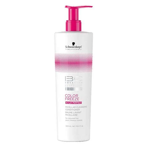 schwarzkopf bonacure color freeze micellar cleansing