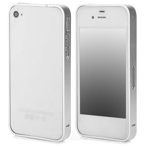 Iphone 4 Aluminum Bumper Frame 2010 s what ultra slim aluminum alloy bumper frame for iphone 4 4s silver free shipping