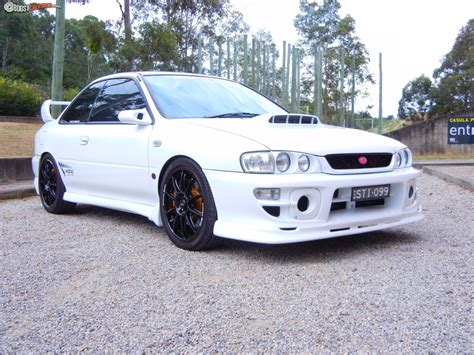 custom subaru impreza 1999 subaru impreza sti version 5 boostcruising