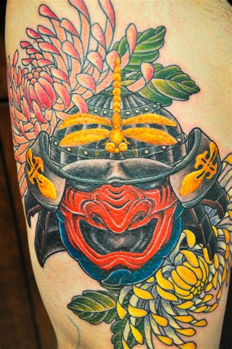 kiku tattoo 37 best images about samurai helmet on