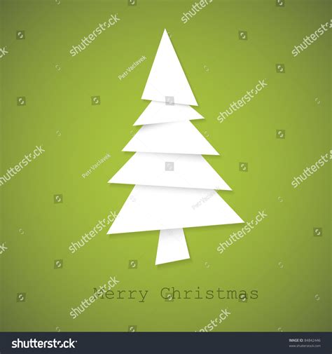 How Many Pieces Of Paper Can A Tree Make - simple vector tree made from pieces of white