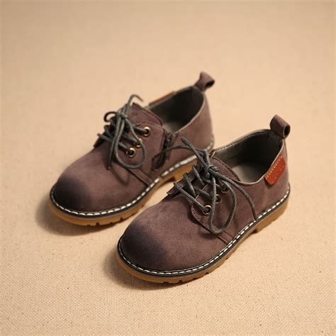 vintage style childrens 2017 children casual shoes child pu leather sport shoes