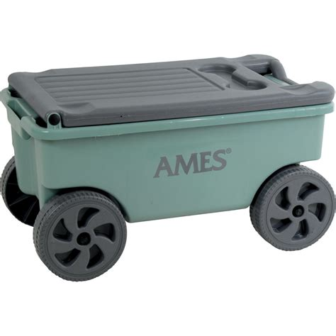 shop ames 0 75 cu ft poly yard cart at lowes