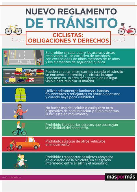 reglamento de trnsito edo de mxico 2016 lo que los ciclistas deben saber del nuevo reglamento de