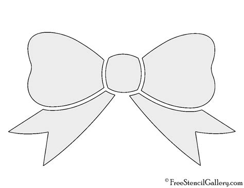 bow tie template printable bow outline template pictures to pin on pinsdaddy