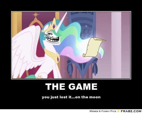 The Game Meme - the game trollestia meme generator posterizer