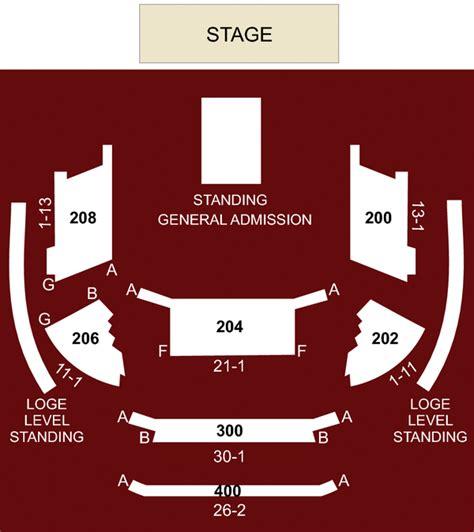 las vegas house of blues seating chart 45degreesdesign