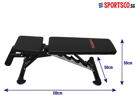heavy duty workout bench sportsco heavy duty workout utility bench sg lazada