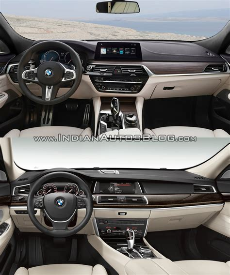 Bmw Gt Interior by 2017 Bmw 6 Series Gt Vs Bmw 5 Series Gt Interior