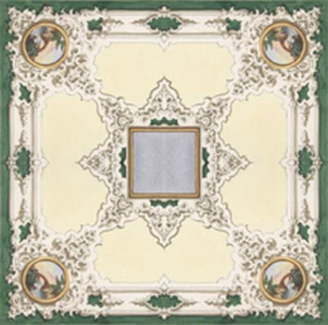 Dollhouse Ceiling Wallpaper dollhouse miniature ceiling mural wallpaper 6104 by itsy