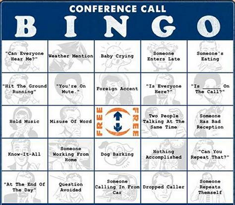 conference call bingo for all you workin types flickr