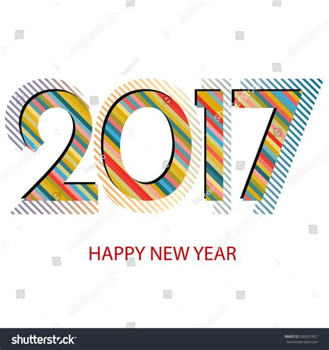 new year 2017 element happy new year 2017 background new year and design