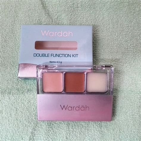 Eyeshadow Wardah Function Kit jual wardah function kit contour highlight