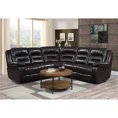 Top Grain Leather Sofa Costco Garrison 5 Top Grain Leather Modular Reclining Sectional
