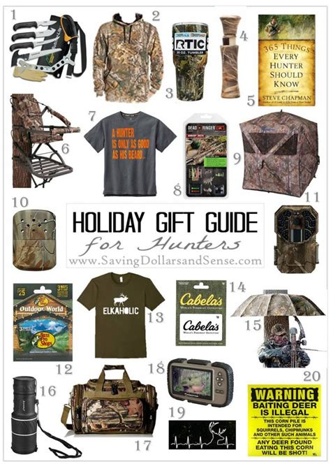 best hunting gifts the best gift ideas for hunters saving dollars and sense