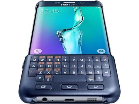 samsung galaxy  und  edge mit optionalen tastatur