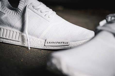 Adidas Nmd R1 Sashiko Japan White Po adidas nmd r1 primeknit white and black japan release date sneakernews