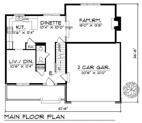 master up floor plans traditional master up design 89628ah architectural