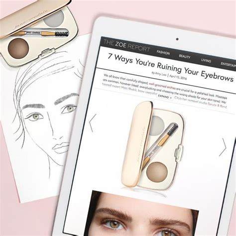 7 Tips To Shape Your Brows Like A Pro by 9 Best Tips How To Brow Board Images On Eye