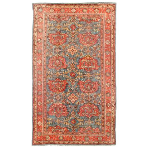 Teal Rugs For Sale Antique Colorful Turkish Oushak Rug With Teal Color For