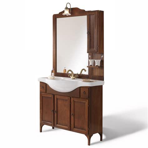 specchio mobile bagno mobile bagno alessandria arte povera cm 85 con specchio