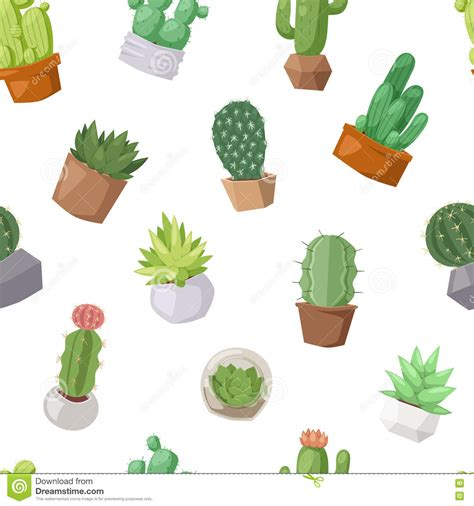 cactus doodle cactus doodle seamless pattern vector vector