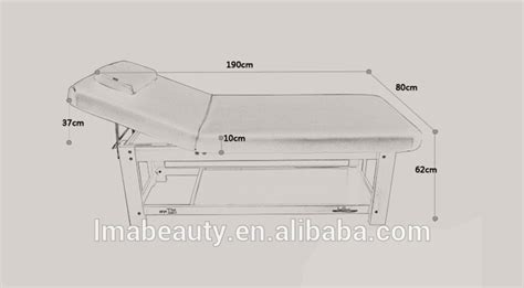 lma professional wood cosmetic table pine wood mature