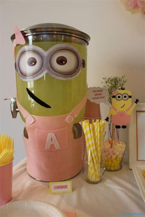 Baby Minion Baby Shower by Minion Baby Shower Lemonade Minion Baby Shower