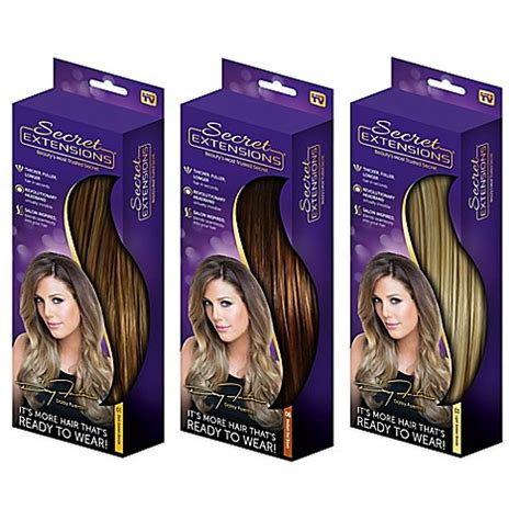 Secret Extensions Hair Colors Secret Extensions Secret Extensions Headband Hair Extensions Bed Bath Beyond