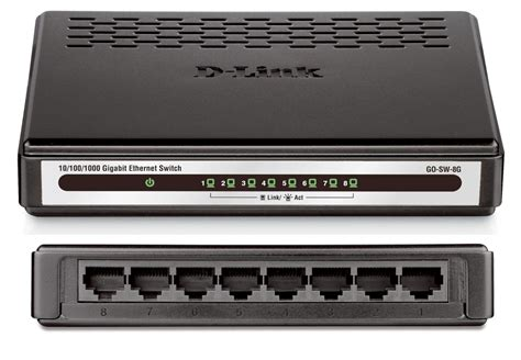 Switch Dlink 8 Port d link 8 port gigabit desktop switch go sw 8g