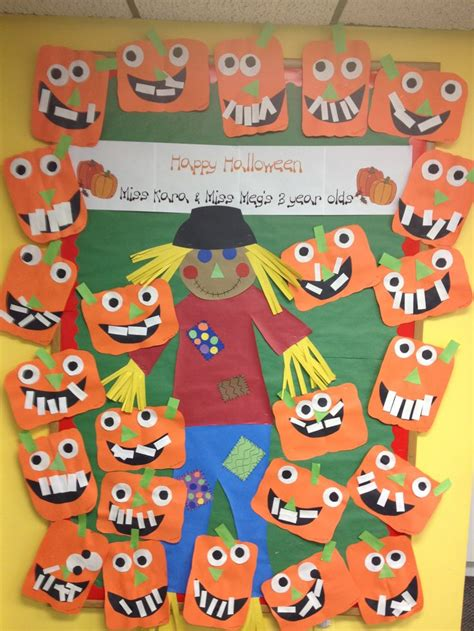 halloween themes for daycare preschool bulletin board idea for halloween art and