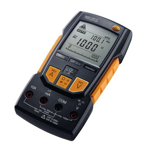 in testo testo 760 3 digital multimeter resistance electrical