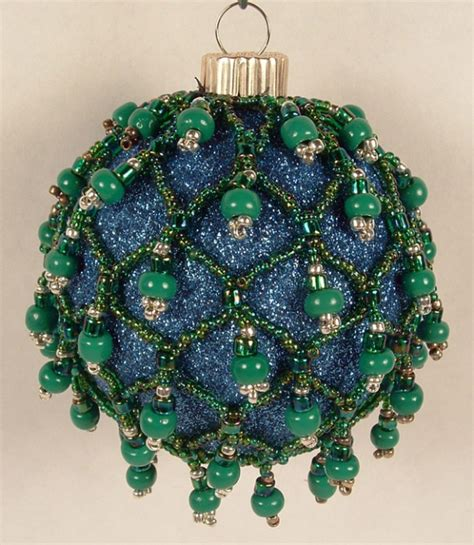 beaded ornament the crafty sisters