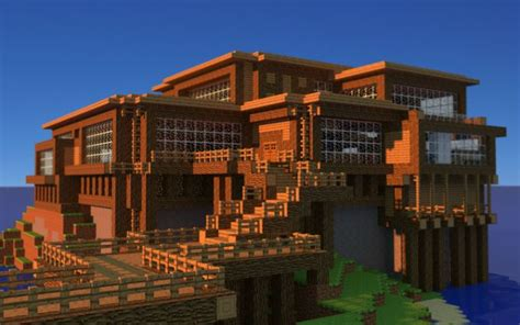 awesome modern houses best minecraft house ever blueprint awesome renders of a