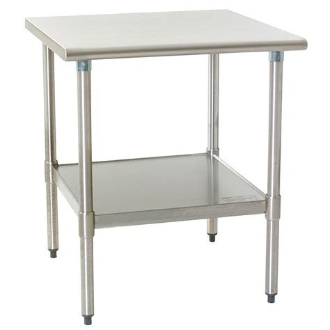 Galvanized Table by Eagle T3030em 30 Quot X 30 Quot Stainless Steel Work Table
