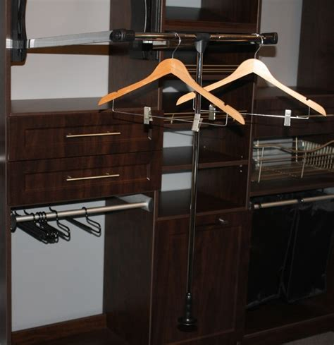 Closet Pull Rack by Closet Accessories Pull Garment Rack Closet