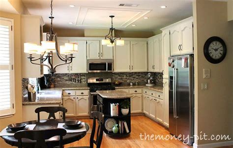 modernizing oak kitchen cabinets diy projects and ideas for the home kitchen ideas