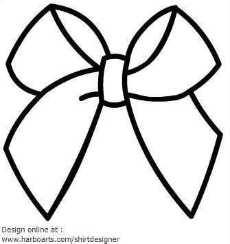 ribbon bow coloring page free bow outline download free clip art free clip art on