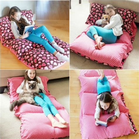 pillow bed for kids diy cozy pillow bed that kids will love
