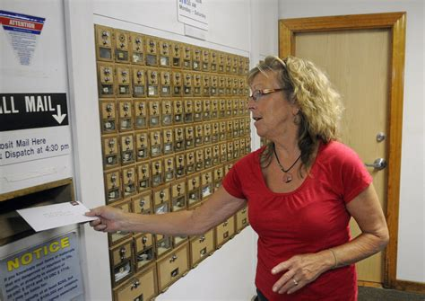Monmouth Post Office by Cutbacks Affecting Central Maine Post Offices
