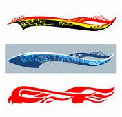 Car Stickers Flame Stock Image And Royalty Free Vector S On