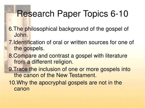 Biblical Studies Research Paper Topics by Expert Essay Writers New Testament Research Paper Topics Thesissubjects Web Fc2