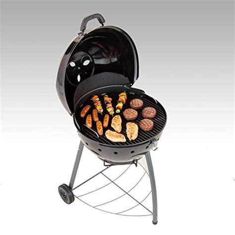 backyard grill 22 inch charcoal grill char broil tru infrared kettleman charcoal grill 22 5