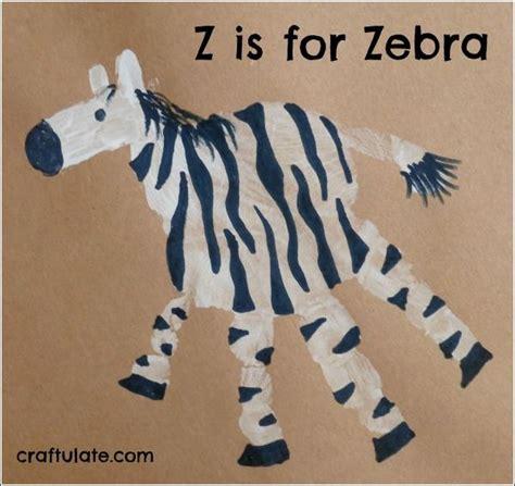 zebra pattern for preschoolers so cute an animal handprint for each letter of the