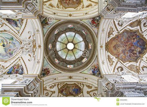 casa cupola palermo cupola and ceiling of church la chiesa gesu