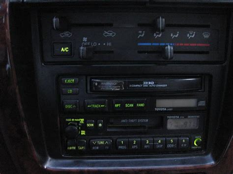 Lights For Radio Station And Also Climate Control Out Radio Station Lights