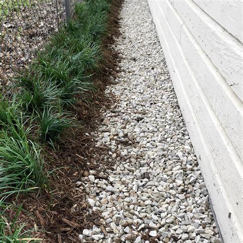 Landscape Fabric Or Plastic Around Foundation Petty S Irrigation Landscape Ltd Drainage