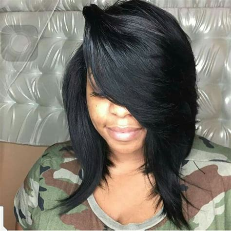 black sew in long hair styles with 18 inches 57 best images about bob hairstyles sew ins on pinterest