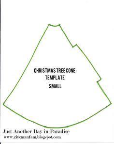 Christmas Tree Cone Template Diy Pinterest Christmas Trees Trees And Paper Tree Cone Template